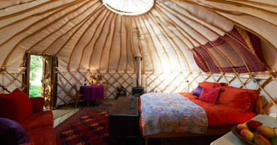 The Glamping trend
