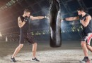 Ever thought of doing physical exercise with a sandbag?
