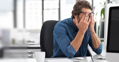 The five biggest professional's concerns